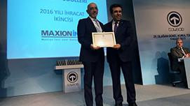 TAYSAD Grants Export Award to Maxion İnci  Wheel Group
