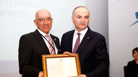 Export Achievement Award to Maxion İnci