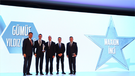 "Maxion İnci receives ""Producer of the Year""  Award"